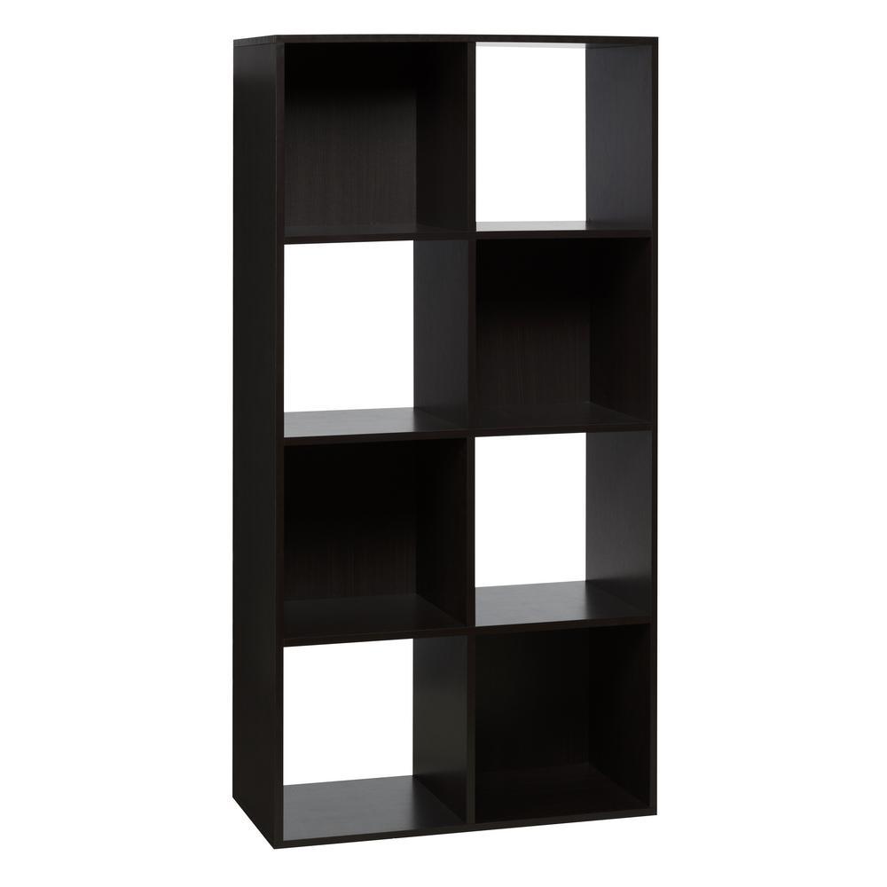 8-Cube Organizer, Espresso