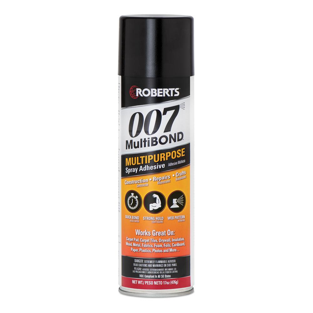 17 oz. Multi-Bond Multipurpose Spray Adhesive for Construction, Repairs and Crafts
