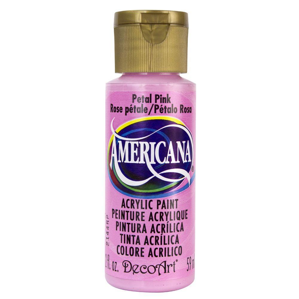 Americana 2 oz. Petal Pink Acrylic Paint