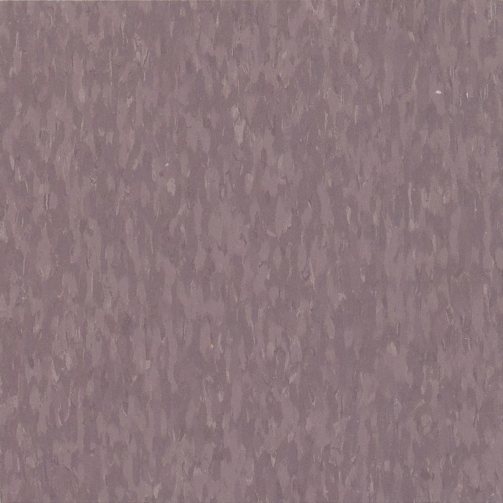 Imperial Texture VCT 12 in. x 12 in. Dusty Plum Commercial