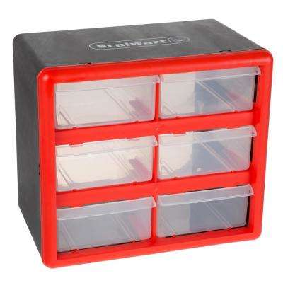6-Compartment Small Parts Organizer
