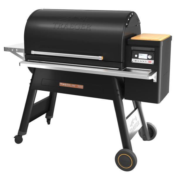 Timberline 1300 Pellet Grill in Black