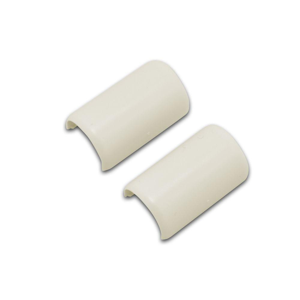 Legrand Wiremold CordMate Cord Cover Coupling, Ivory (2 Pack)