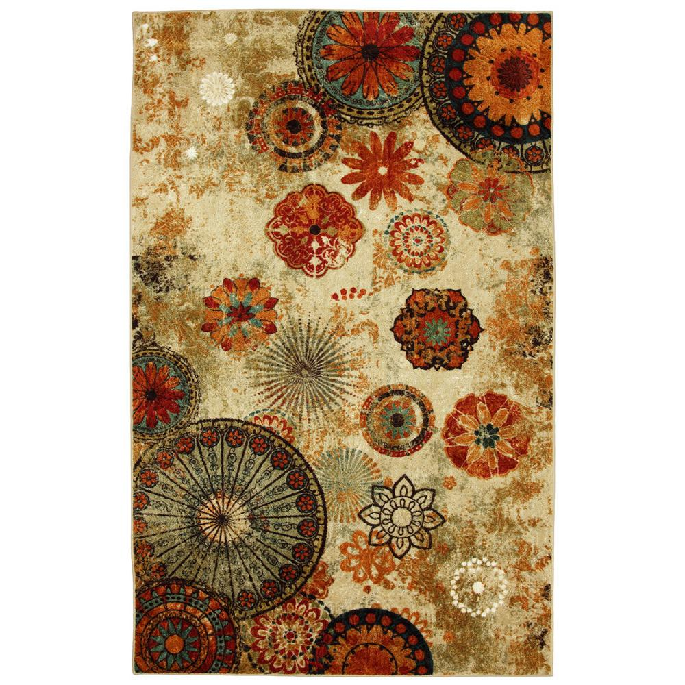 Mohawk Home Caravan Medallion Multi 5 ft. x 8 ft. Area Rug was $134.55 now $107.64 (20.0% off)