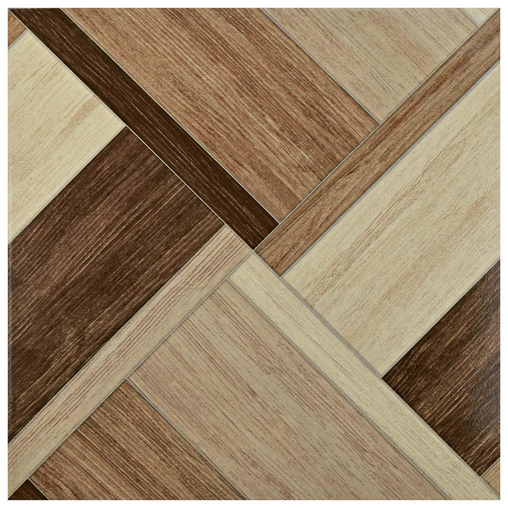 Wood ceramic tile tile the home depot austin natural 17 34 in x 17 34 in dailygadgetfo Image collections