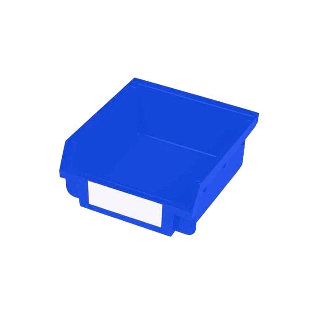 30-Compartment Small Blue Hanging Storage Small Part Organizer-Non Stacking/Interlocking Loc Bin
