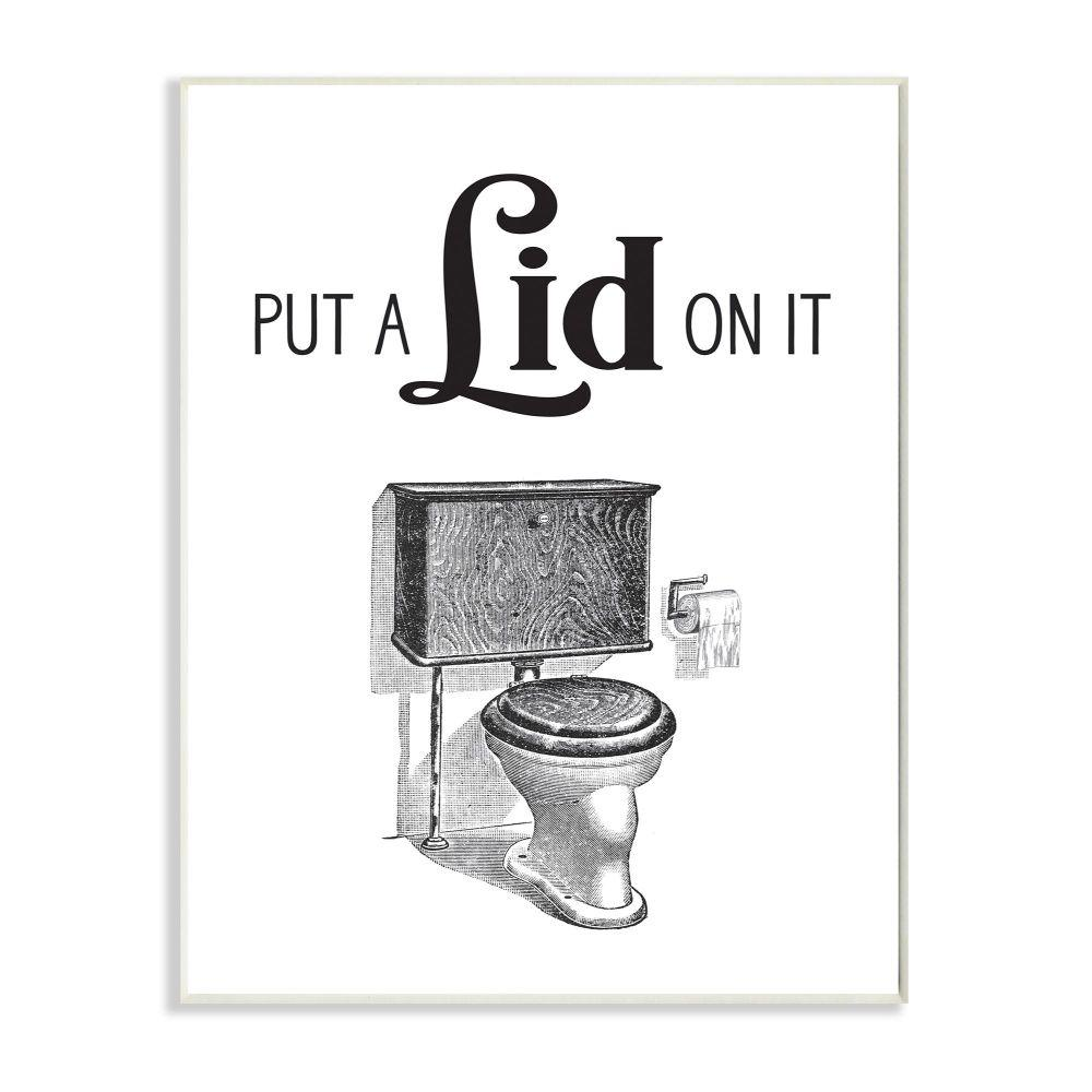 Wall Art Print w// Optional Frame Bathroom Toilet Seat Device Patent Design