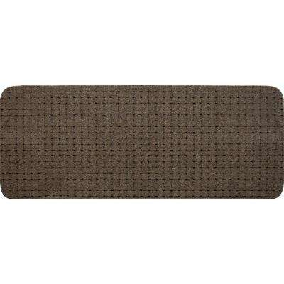 Pindot Toffee 9 in. x 24 in. Stair Tread (12- Pack)