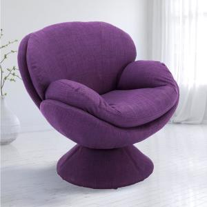 Incredible Port Purple Fabric Leisure Accent Chair Gamerscity Chair Design For Home Gamerscityorg