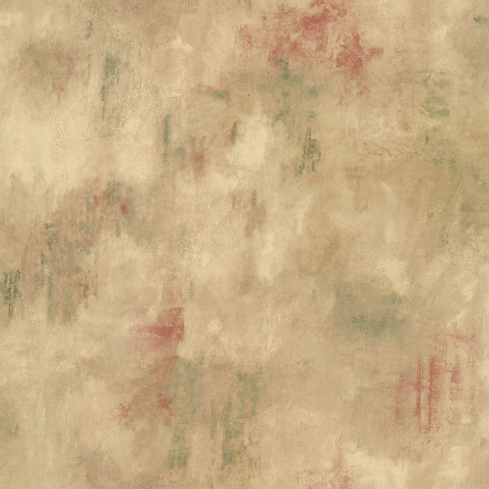 The Wallpaper Company 56 sq. ft. Multi Colored Marble Faux Texture Wallpaper