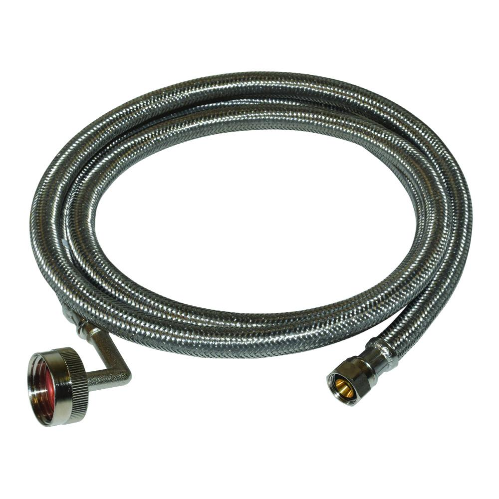 Eastman 8 ft. Braided Stainless Steel Dishwasher Connector