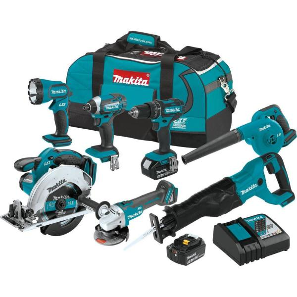 18-Volt LXT Lithium-Ion Cordless Combo Kit (7-Piece)