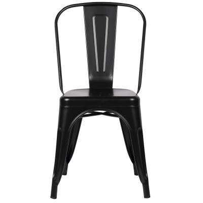 Trattoria Black Side Chair (Set of 4)