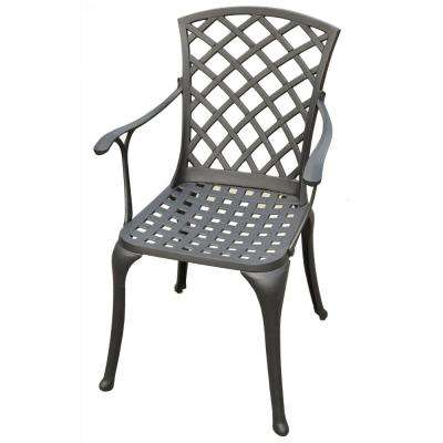 Sedona Cast Aluminum Outdoor Dining Chair (2-Pack)