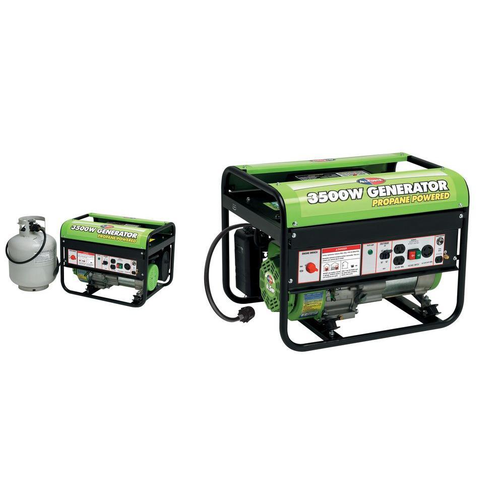 All Power 3,500-Watt Propane Portable Generator