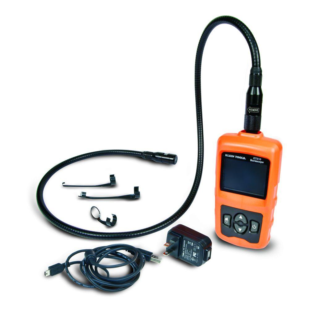 Klein Tools Borescope Inspection Waterproof Camera