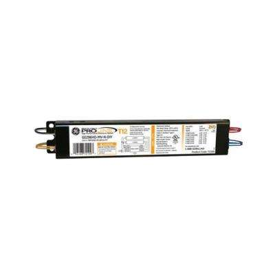 120 to 277-Volt Electronic Ballast for Hi-Output 8 ft. 2-Lamp T12 Fluorescent Fixture