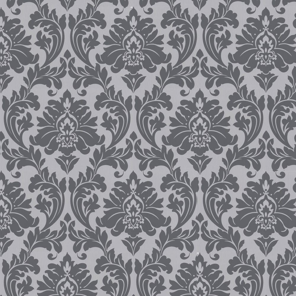Graham & Brown Majestic Grey Removable Wallpaper