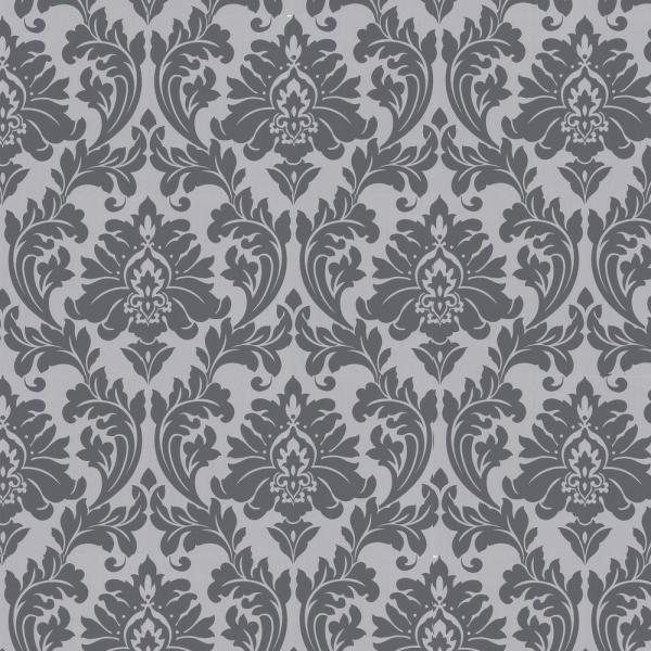 Graham & Brown Majestic Grey Removable Wallpaper 30-437