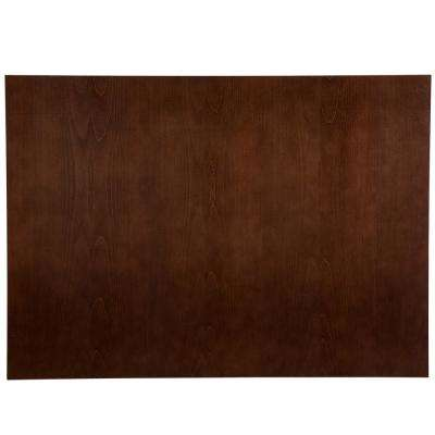 Benton 48x35x0.5 in. Island End Panel in Amber