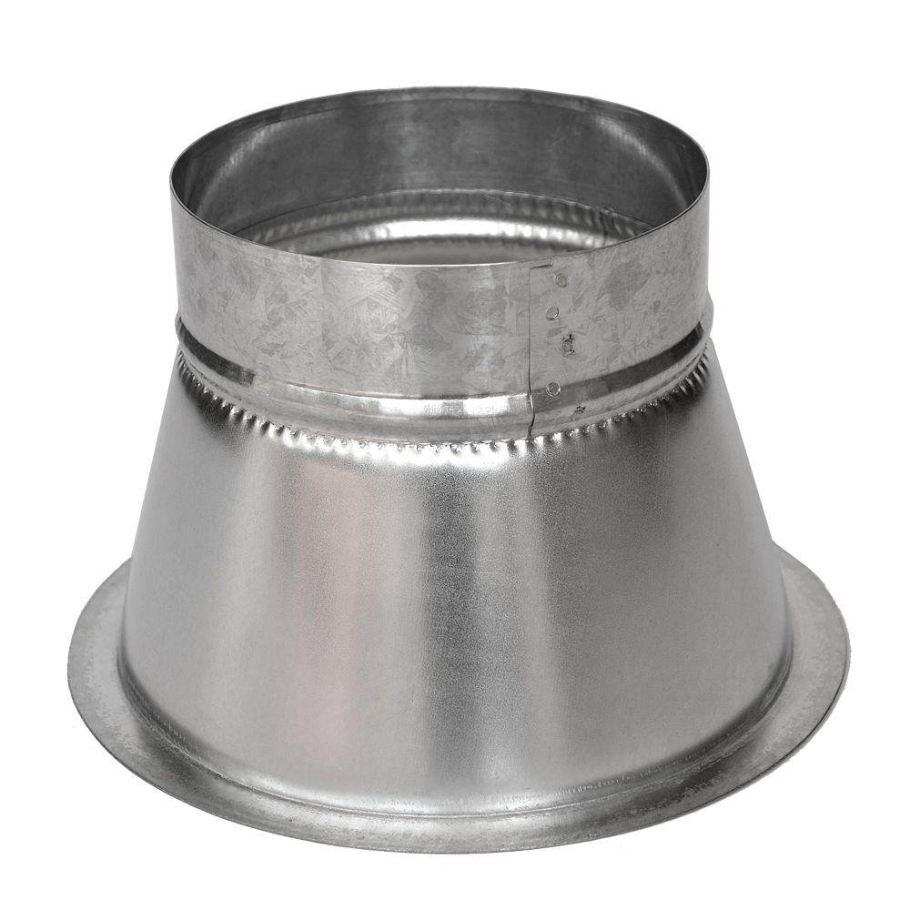10 in. Conical Flanged Tap