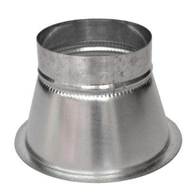 9 in. Conical Flanged Tap