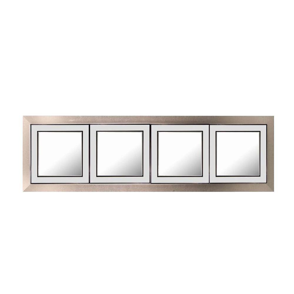 Simpli Home 23 in. x 71 in. Kendal Decorative Framed Mirror