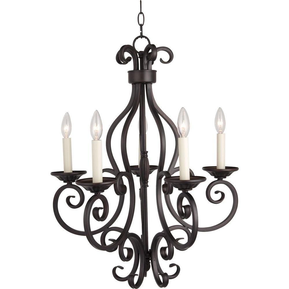 Maxim lighting manor 5 light oil rubbed bronze chandelier 12215oi maxim lighting manor 5 light oil rubbed bronze chandelier mozeypictures Images