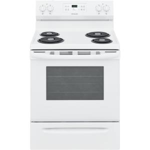 30 in. 5.3 cu. ft. Electric Range with Self Clean in White