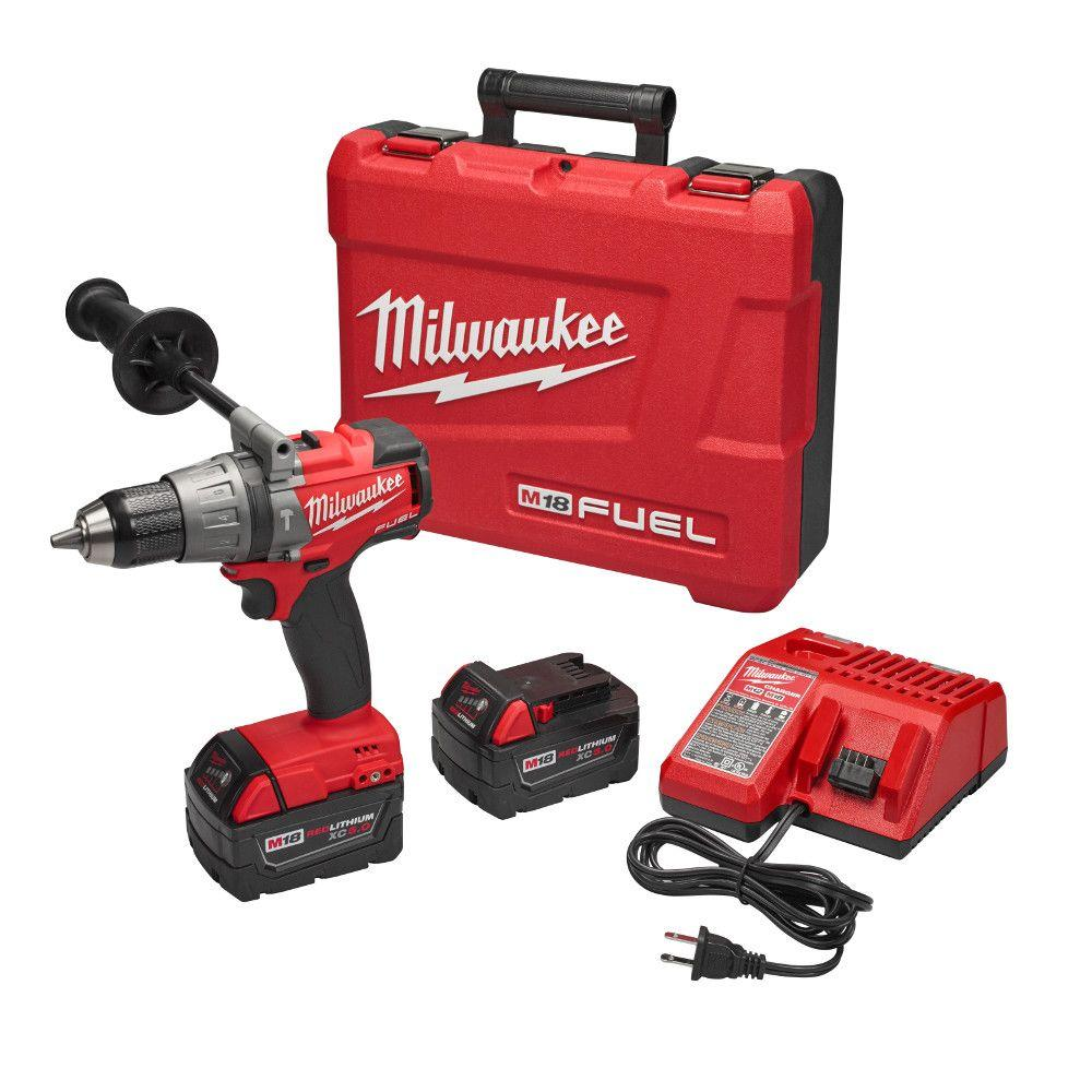 Milwaukee M18 FUEL 18-Volt Lithium-Ion Brushless Cordless 1/2 in.