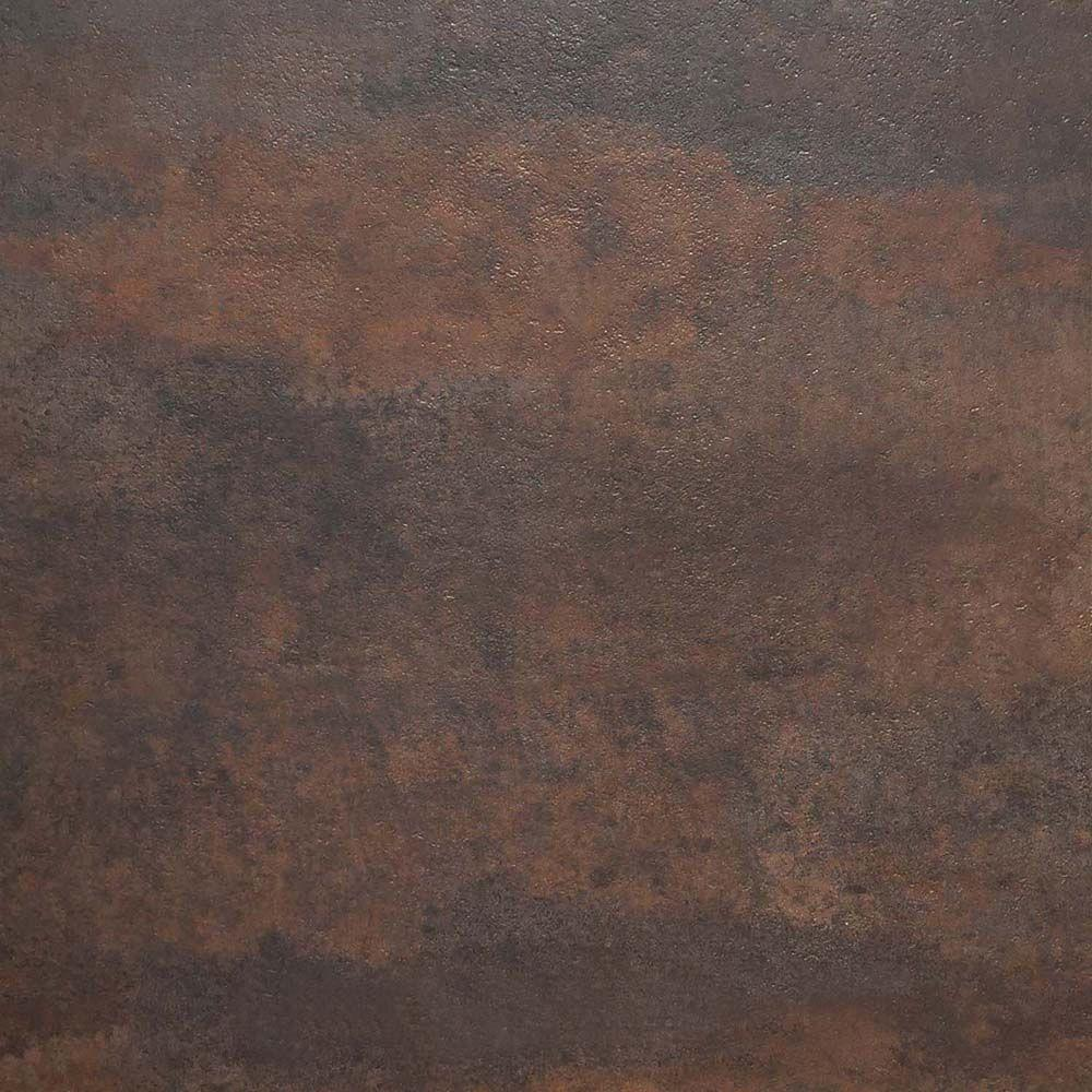 Trafficmaster Brown Oxidized Metal 18 In X L And Stick Vinyl Tile
