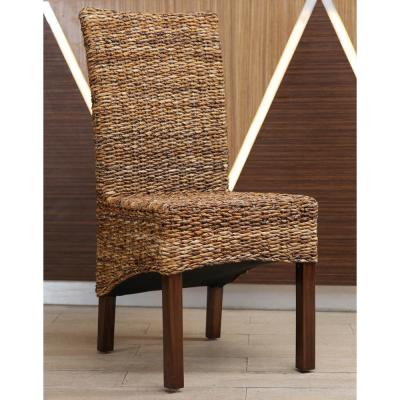 Gaby Salak Brown Banana Dining Chairs with Mahogany Hardwood Frame (Set of 2)