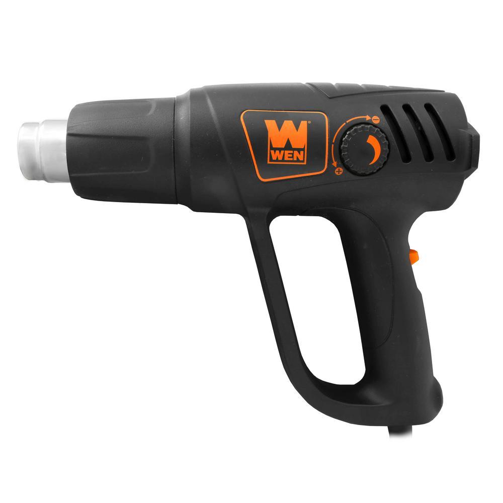 Electric Power Heat Gun Blower Bender Shrink Tool w Dual High Temp Master Switch