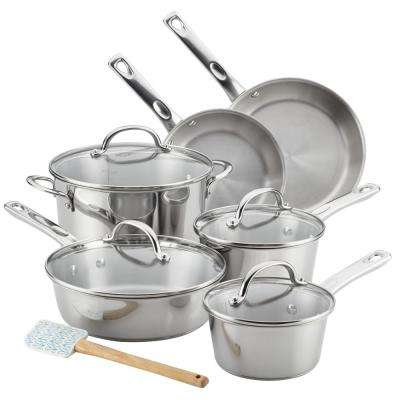 Home Collection 11-Piece Stainless Steel Cookware Set