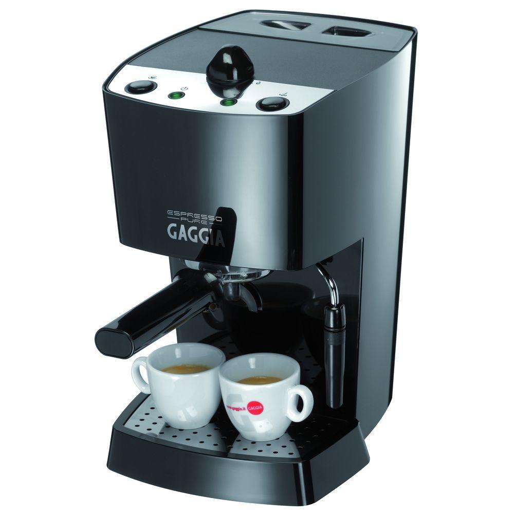 Gaggia 6 oz. Espresso Pure in Black-DISCONTINUED