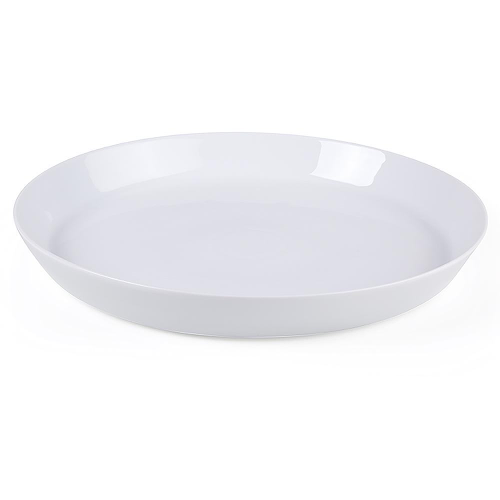 villeroy boch group vivo fresh collection white shallow gourmet bowl 1952523220 the home depot. Black Bedroom Furniture Sets. Home Design Ideas