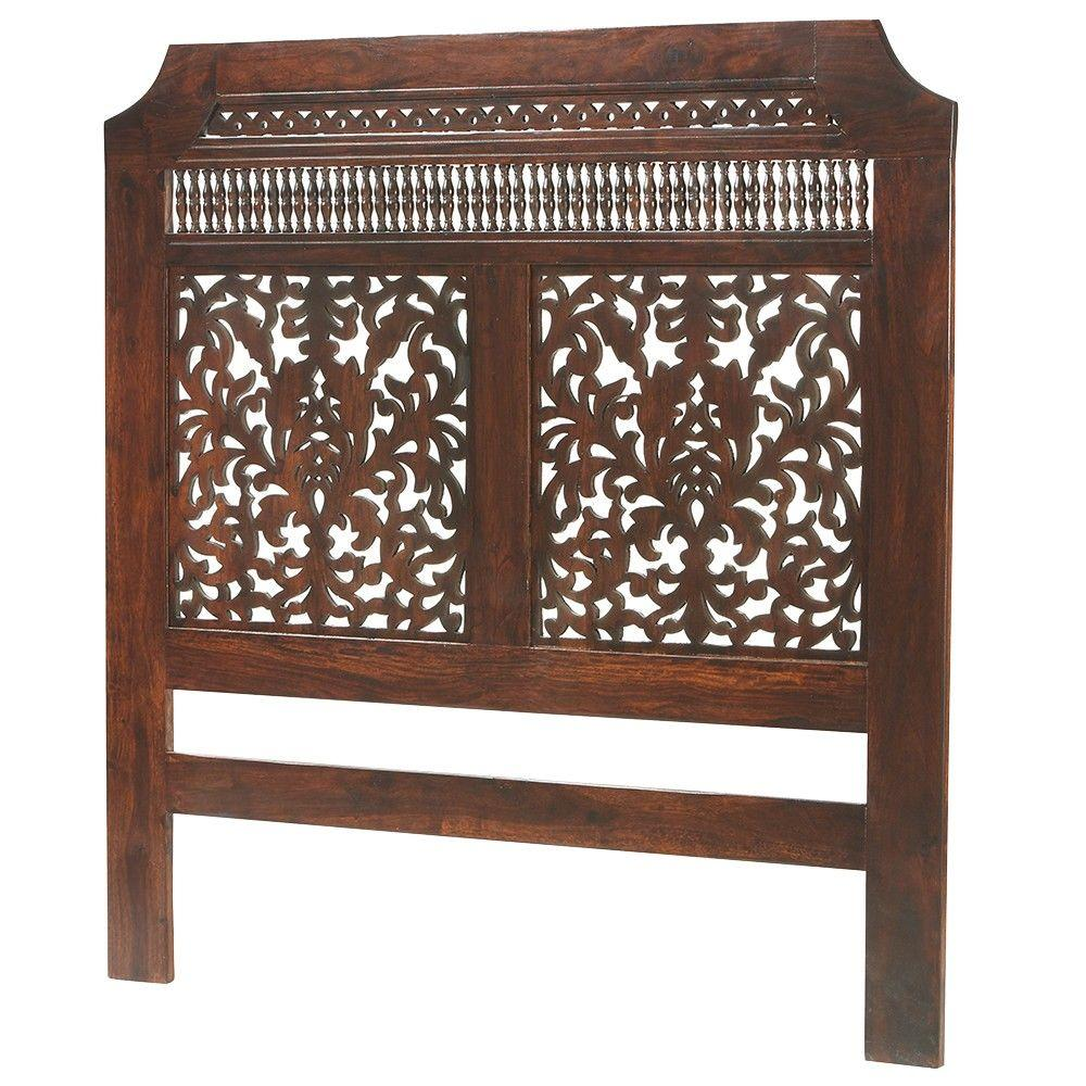 Home Decorators Collection Maharaja Walnut King Headboard