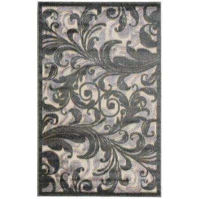 Graphic Illusions Multi 4 ft. x 6 ft. Area Rug