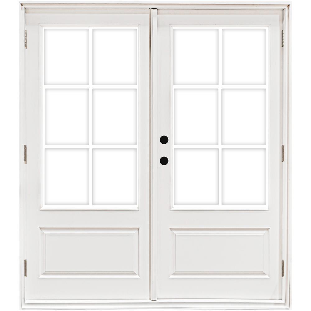 Right Handoutswing French Patio Door Patio Doors Exterior