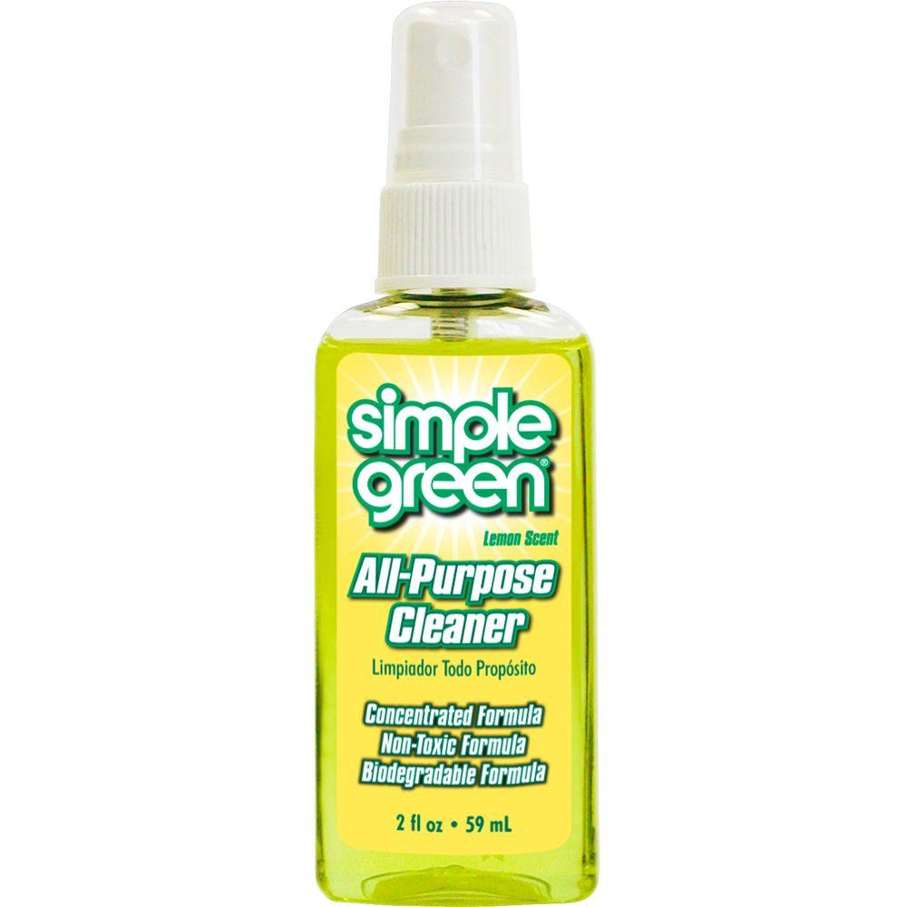 Simple Green 2 oz. Lemon Scent All-Purpose Cleaner with Pump (Case of 48)