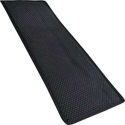 Brown 12 in. x 36 in. Gun Mat with Grid