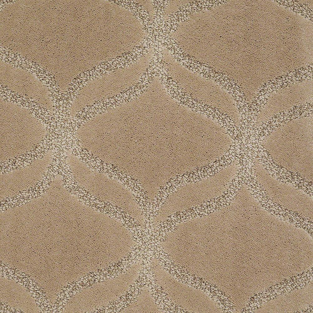 Kensington - Color Antelope Pattern 12 ft. Carpet