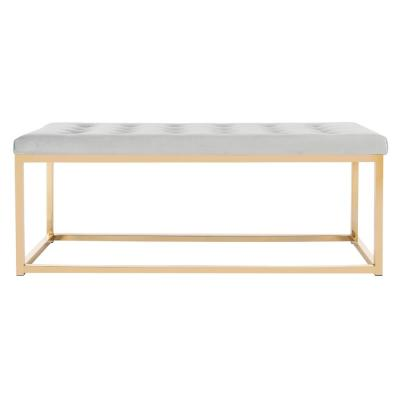 Reynolds Gray/Brass Bench