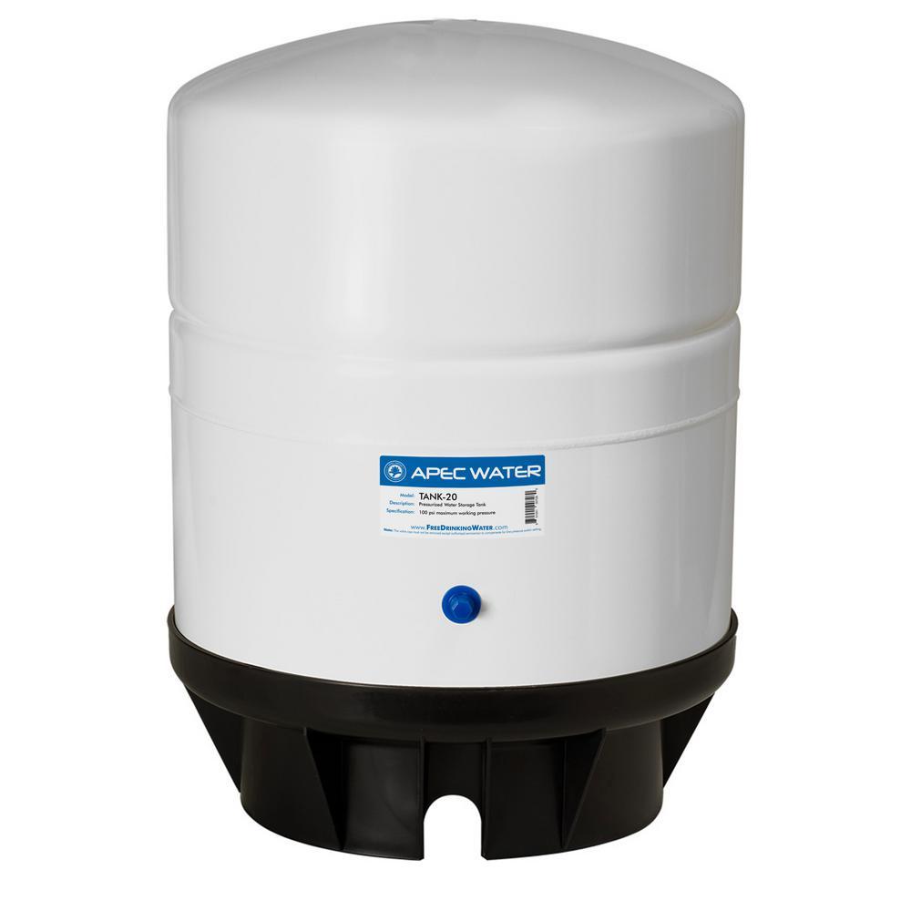 20 Gal. Pre-Pressurized Residential Reverse Osmosis Drinking Water Storage Tank