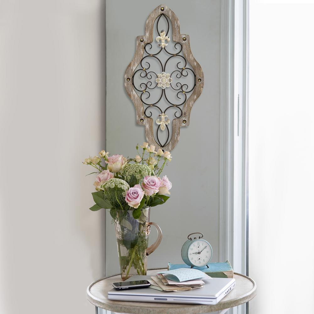 Stratton Home Decor French Country Scroll Wall Decor S07678 The