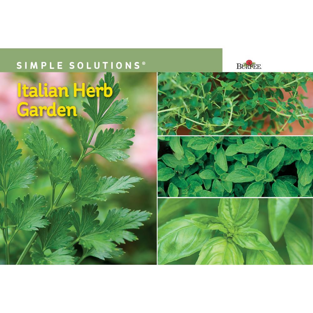 Simple Solution Italian Herb Garden