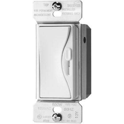 300-Watt 3-Way Dimmable LED/CFL Dimmer with Preset in Alpine White