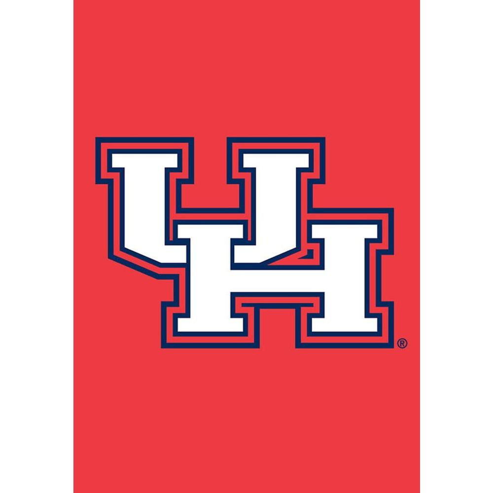 Evergreen Enterprises 12.5 in. x 18 in. University of Houston Applique Garden Flag