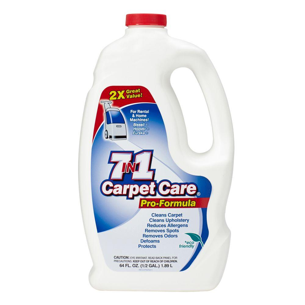7 in 1 carpet care 64 oz carpet cleaner pro formula 6034 the home depot. Black Bedroom Furniture Sets. Home Design Ideas