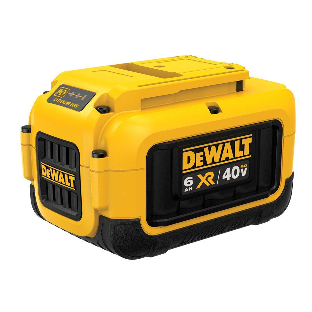 DEWALT 40-Volt MAX XR Lithium-Ion Cordless 6.0 Ah Battery